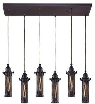 Rawlings Sports Accessories 17 Stories 6 - Light Cluster Cylinder Pendant 17 Stories