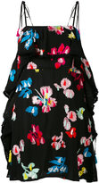 Tanya Taylor embroidered mini dress - women - Silk/Polyester/Viscose - 4