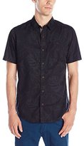 Burnside Men's Smashed Woven Shirt
