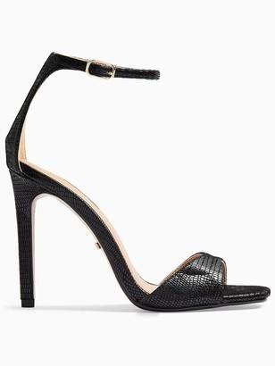 Topshop Silvy Stiletto High Heels - Black