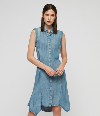 AllSaints Francis Denim Dress