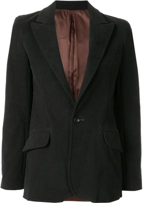 Sulvam Single-Breasted Blazer