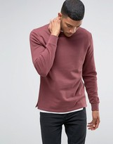 Asos Sweatshirt With Fixed Hem