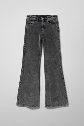 Weekday Ritz Flared Cord Trouser - Black
