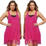 ABCsell Women Blouse, ABC Women's Sexy Plus Size Summer Boho Tassel Blouse Beach T-Shirt Top Cover Up Blouse