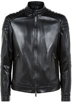 Boss Mercedes Benz Padded Leather Jacket