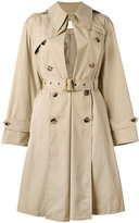 Maison Margiela trench coat - women - Cotton/Viscose - 40