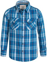 Weatherproof Plaid Shirt - Button Front, Long Sleeve (For Big Boys)