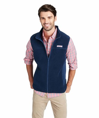 Vineyard Vines Men's Harbor Fleece Vest
