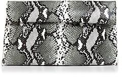 Aqua Python-Print Clutch - 100% Exclusive