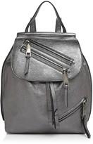 Marc Jacobs Zip Pack Small Metallic Backpack