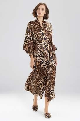 Natori Luxe Leopard Robe