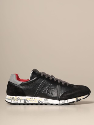 Premiata Sneakers Lucy Sneakers In Suede And Fabric