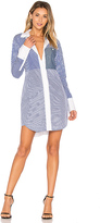 Elizabeth and James Jay Shirt Dress in Blue. - size M (also in )