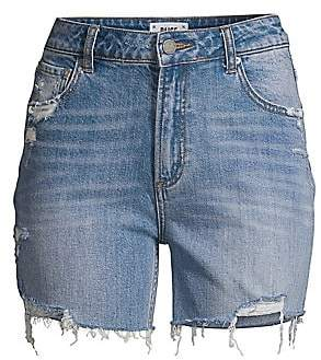 Paige Women's Sarah Longline Denim Shorts
