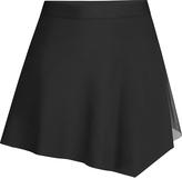 Capezio Black Asymmetrical Skirt - Women