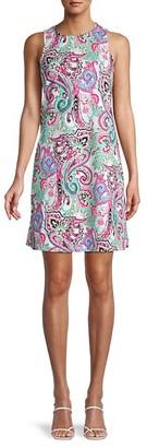 Pappagallo Paisley Shift Dress