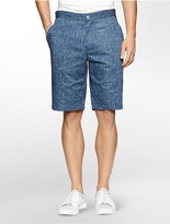 Calvin Klein Classic Fit Abstract Print Shorts