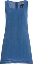 Lisa Marie Fernandez Charlotte Gauze Mini Dress
