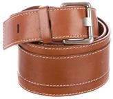 Celine Brown Leather Belt