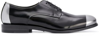 Pantanetti Panelled Lace-Up Shoes