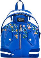 Moschino bomber jacket backpack - women - Leather/Polyamide - One Size