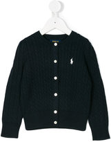 Polo Ralph Lauren embroidered logo cardigan