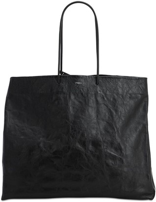 Medea Venti Busted Leather Shoulder Bag