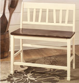 Signature Design by Ashley Owingsville Double Seat Barstool