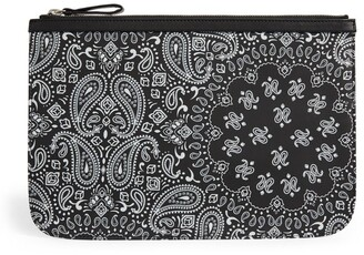 Pierre Hardy Paisley Print Pouch