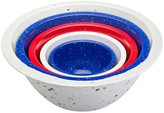 Zak Designs Confetti Nested Bowl Set - Red, White and Blue (5 pc.)
