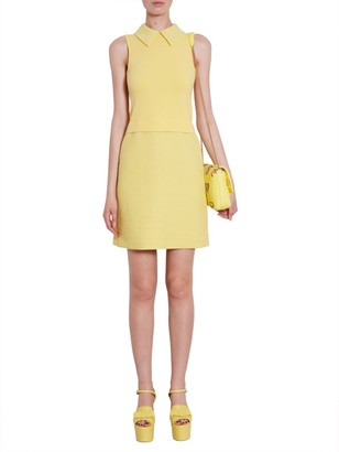 Boutique Moschino Sleeveless Collar Dress