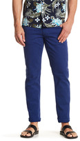 Hudson Zip Fly Solid Slim Jeans