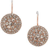 Fossil Glitz Disc Earring - Rose