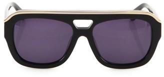 Dax Gabler Oversized Aviator Sunglasses