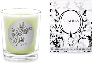 Qualitas Candles Tea Tree Scented Beeswax Candle