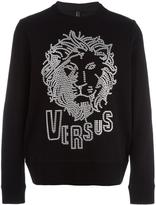 Versus lion head print sweatshirt - men - Cotton - XS