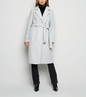 New Look Longline Belted Coat