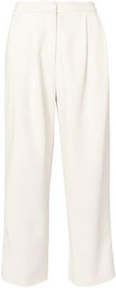 Adam Lippes Cady Pleated Culottes