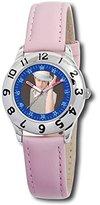 Disney Kids' D052S401 High School Musical Ryan Pink Leather Strap Watch