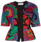 Versace Gianni Vintage Floral skirt suit