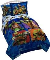 Nickelodeon Teenage Mutant Ninja Turtles '' Reversible Comforter with Bonus Sham
