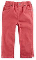Burberry Lois Straight-Leg Stretch Jeans, Pink, Size 12M-3