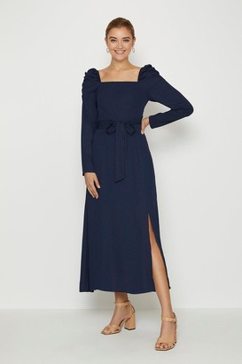 Coast Square Neck Long Sleeve Midi Dress