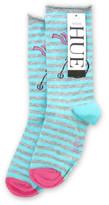 Hue Circus Cat Sock