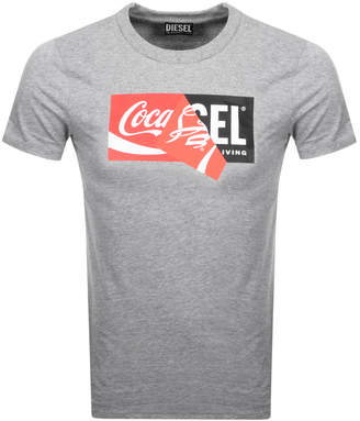 Diesel X Coca Cola ReCollection T Shirt Grey
