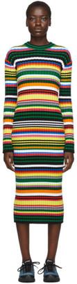 AGR SSENSE Exclusive Multicolor Striped Maxi Dress