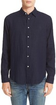 Rag & Bone Men's Beach Trim Fit Double Face Sport Shirt