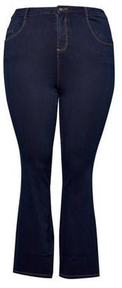 Dorothy Perkins Womens Dp Curve Indigo 'Ellis' Bootcut Denim Jeans