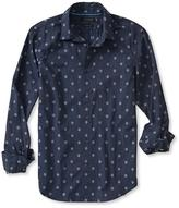 Banana Republic Grant-Fit Print Custom 078 Wash Shirt